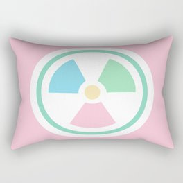 Radioactive Pastels Rectangular Pillow