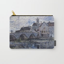 Alfred Sisley - The Bridge Of Moret  1885 Carry-All Pouch