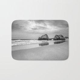 Stone beach Praia da Rocha Bath Mat