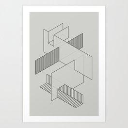 lines 1 Art Print