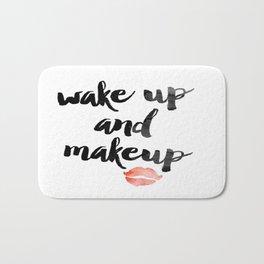 Wake Up and Makeup Bath Mat