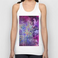 chicago Tank Tops featuring chicago by Bekim ART