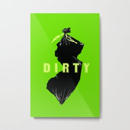 Dirty Jersey  Metal Print