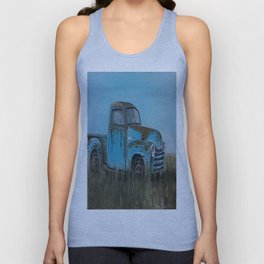 Old Blue Chevy Unisex Tank Top