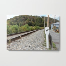 Where Are You Going? Metal Print