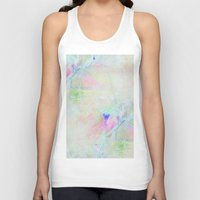 cracked Tank Tops featuring cracked rainbow by Hoeroine