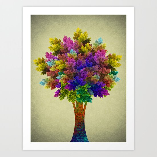 Miracle Tree Art Print