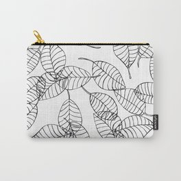 minimal leaves Carry-All Pouch