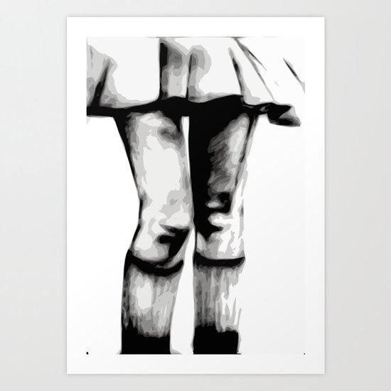 Legs Eleven Art Print