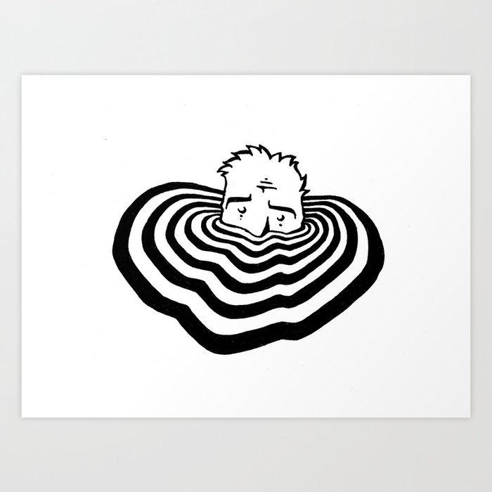 Ripples #2 Art Print