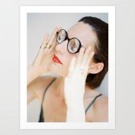 Porcelain Skin - Ibiza - Portrait Photography Art Print