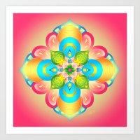 Mandala - Bloom Art Print