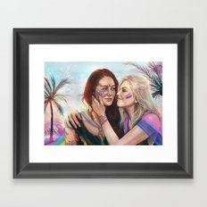 March with Pride ver 2 Framed Art Print