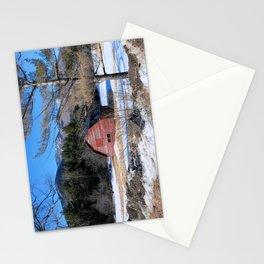Deserted Barn in the Adirondacks Stationery Cards