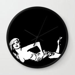 Eau de Goddess Wall Clock