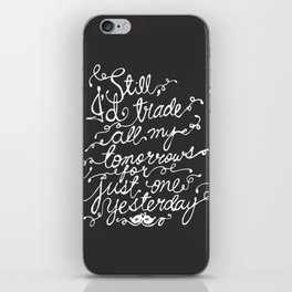 Fall Out Boy - 'Just One Yesterday' iPhone Skin