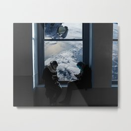 Homeless Astronaut Metal Print