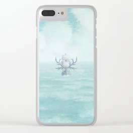The Antlered Ship - Title Page Clear iPhone Case