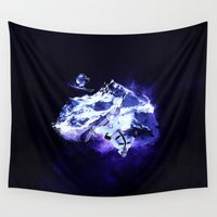 sports Wall Tapestries featuring Extreme Sports by Kevin Roodhorst