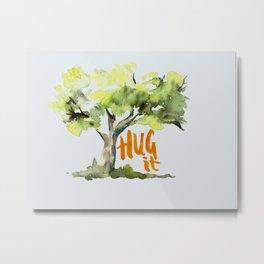 treehugger Metal Print