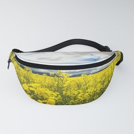 Fields of yellow - Floral Photography #Society6 Fanny Pack