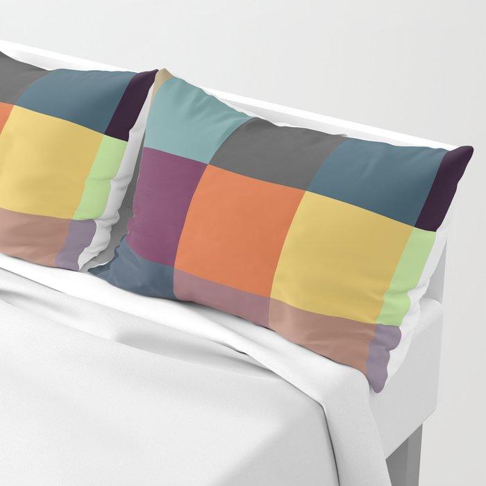 Pixel Patchwork Kappa Pillow Sham