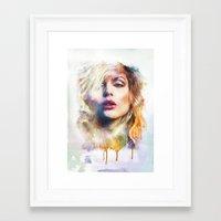blondie Framed Art Prints featuring Blondie by turksworks