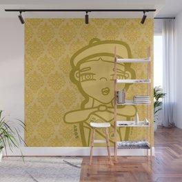 SUZY (duvet) Wall Mural