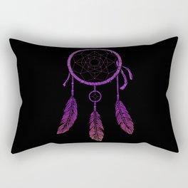 Purple Dream Catcher Rectangular Pillow