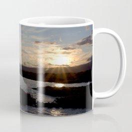 Watercolor Sunset, Janes Island 15, Maryland Coffee Mug