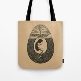 Natural Birth Tote Bag
