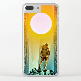 The Tale of Two Towns by GEN Z Clear iPhone Case