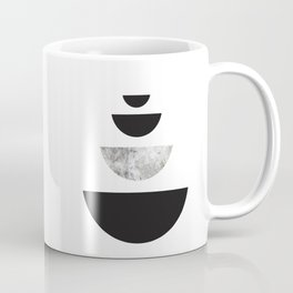 Minimal Abstract Half Moon Coffee Mug