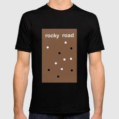 Rocky Road MEDIUM Mens Fitted Tee Black
