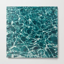 Water Pool Metal Print