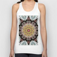 truck Tank Tops featuring Fire Truck by IowaShots