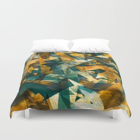 Raw Texture Duvet Cover