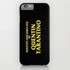 Written And Directed By Quentin Tarantino Slim Case iPhone 6s