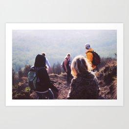 Up the volcano (Bali, Indonesia) Art Print