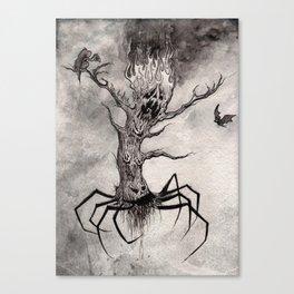 Silly Screamin' Symphony Canvas Print