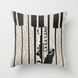 La La Land 2 Throw Pillow