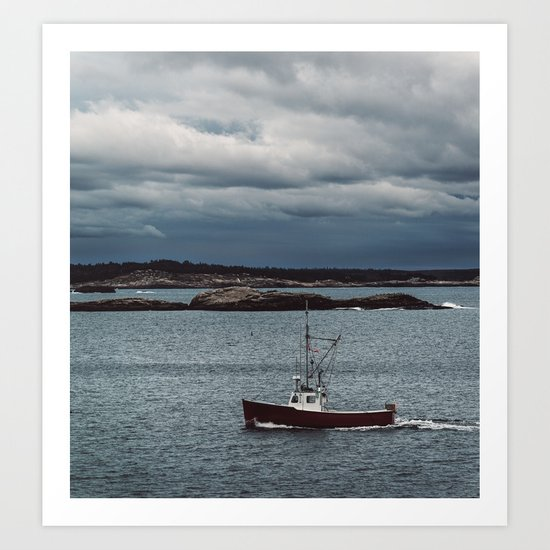 Home from the Seas Art Print