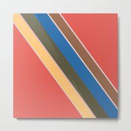 Oblique lines, diagonal Metal Print