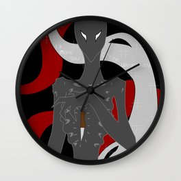 I'll make you cry on wednesday Wall Clock