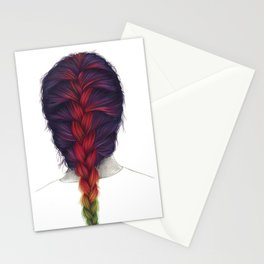 Coloured braid Stationery Cards