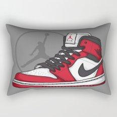 Jordan 1 OG (Chicago) Rectangular Pillow