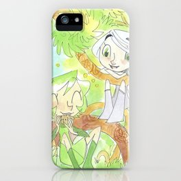 Saria and Aisling iPhone Case
