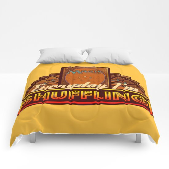 Everyday I'm Shuffling (No Dice Version)  |  Magic The Gathering Comforters