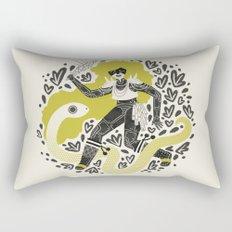 The Serpent Knight Rectangular Pillow