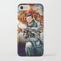 jfk iPhone & iPod Cases featuring Zombieland: JFK by Richard Michaud